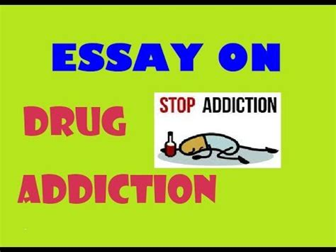An essay about addiction